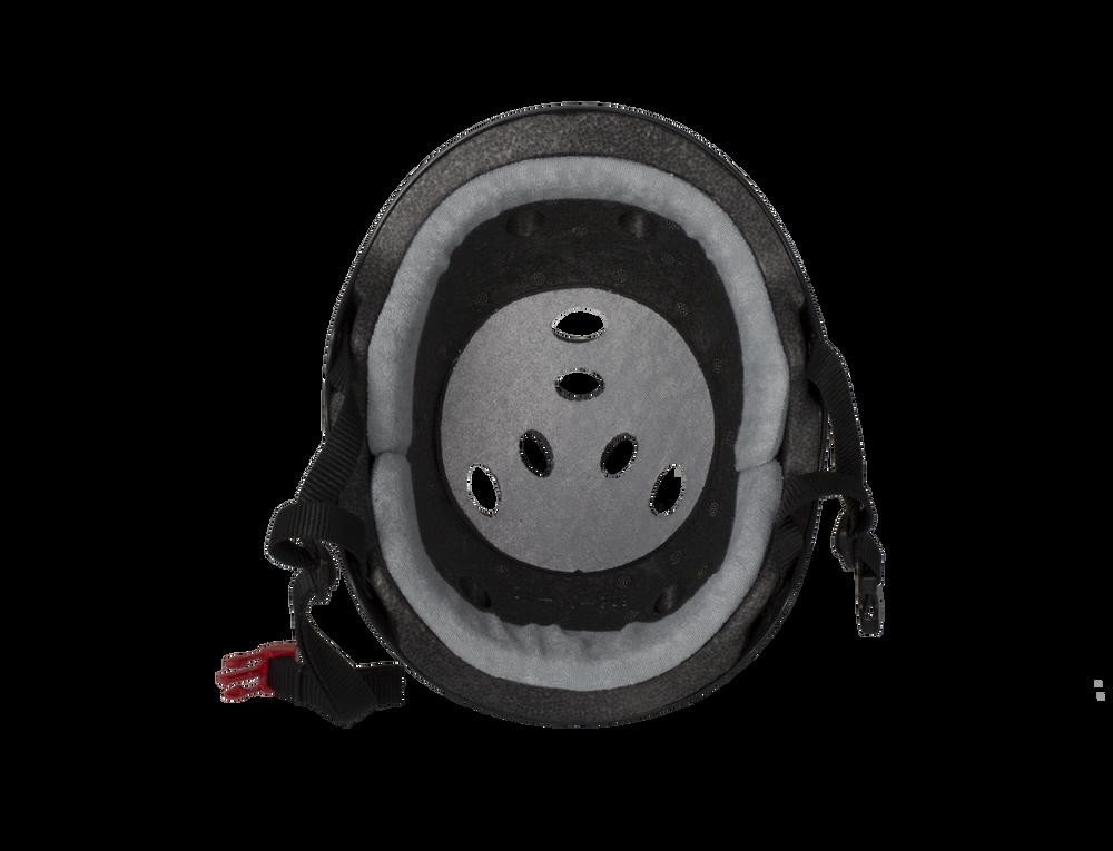 The Certified Triple 8 Sweatsaver Helmet Inside View