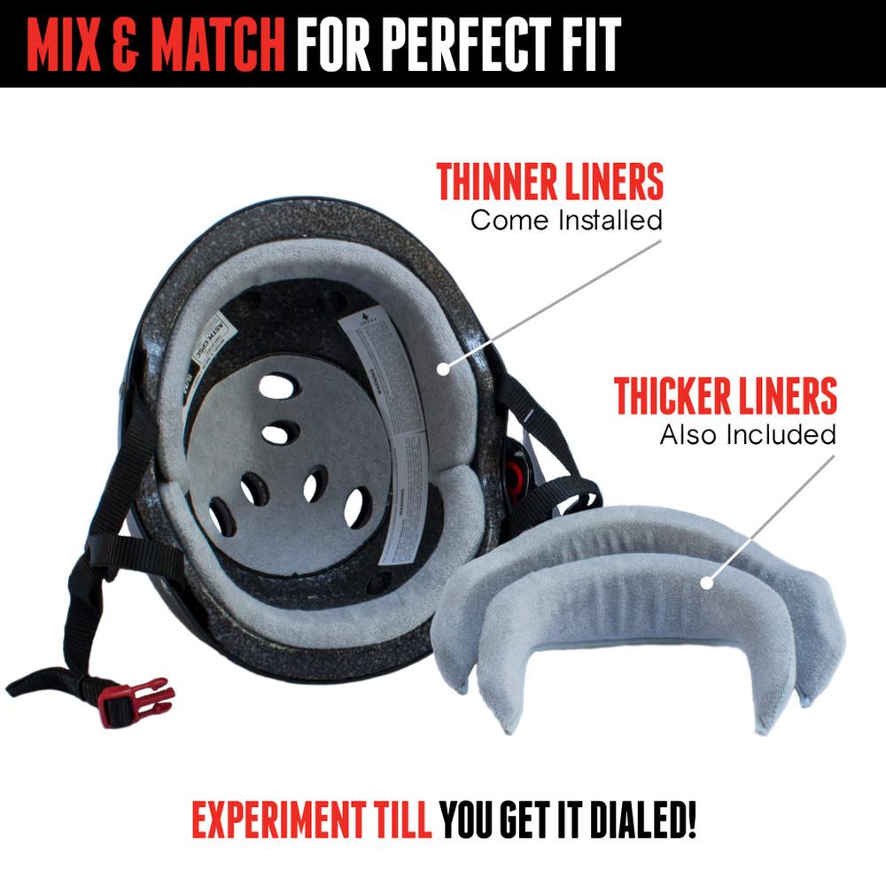 The Certified Triple 8 Sweatsaver Helmet Liner Information