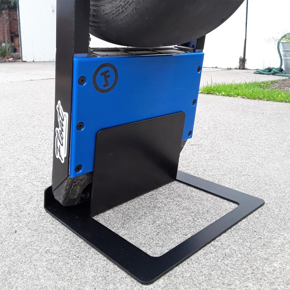 TFL Foundation XtraRad Onewheel Stand shown with Onewheel