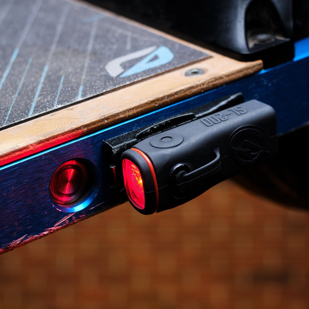 Red Lighting (Taillight) Side of Board