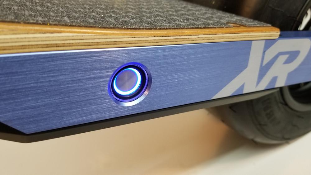 Power Button Cover Rail