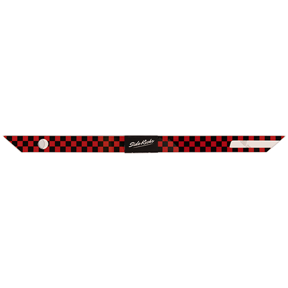 Checkered Red and Black