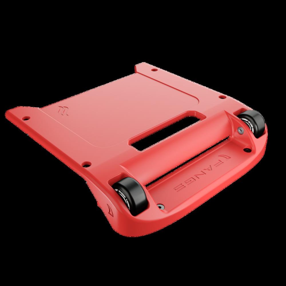 Red Bumper / Black Wheels