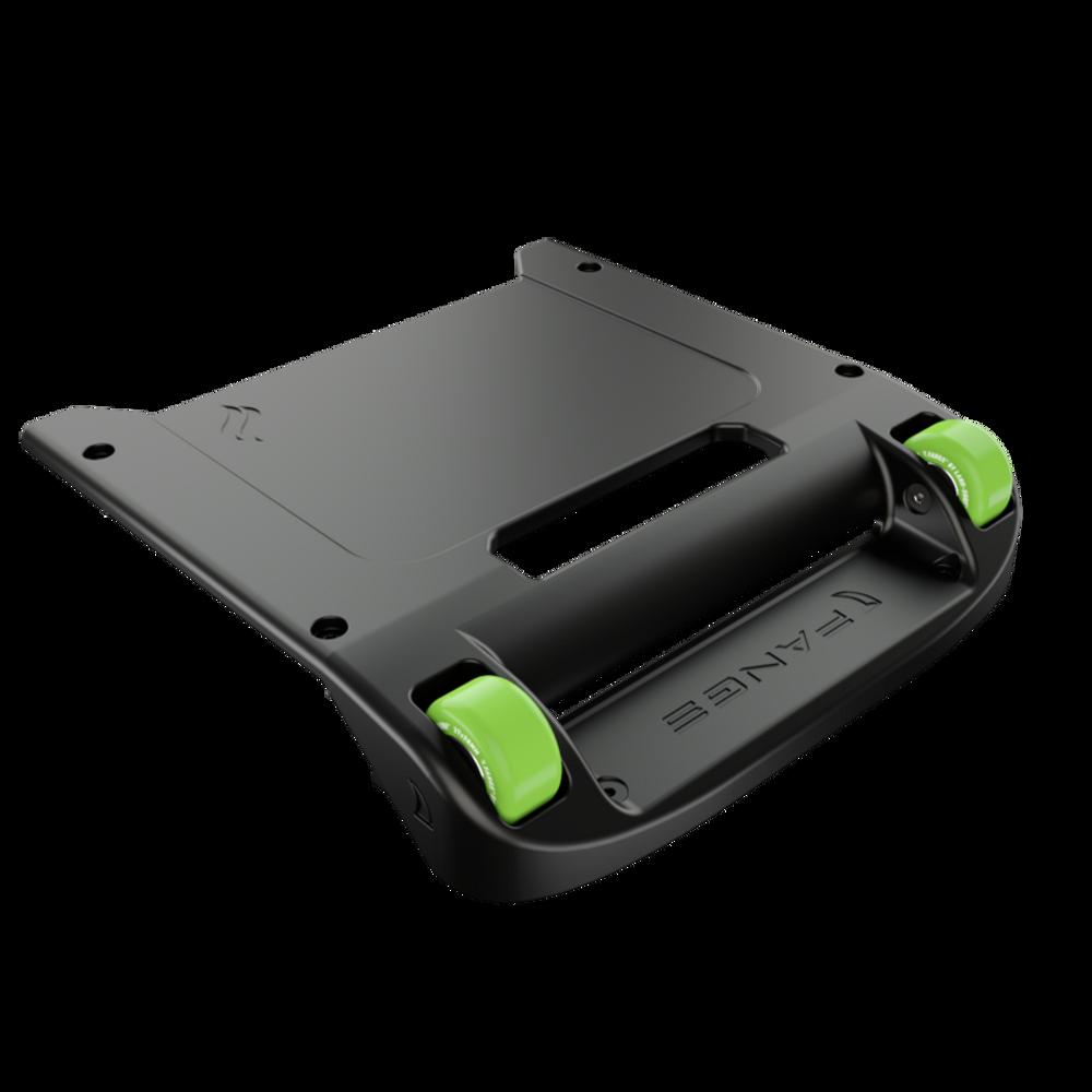 Black Bumper / Lime Green Wheels