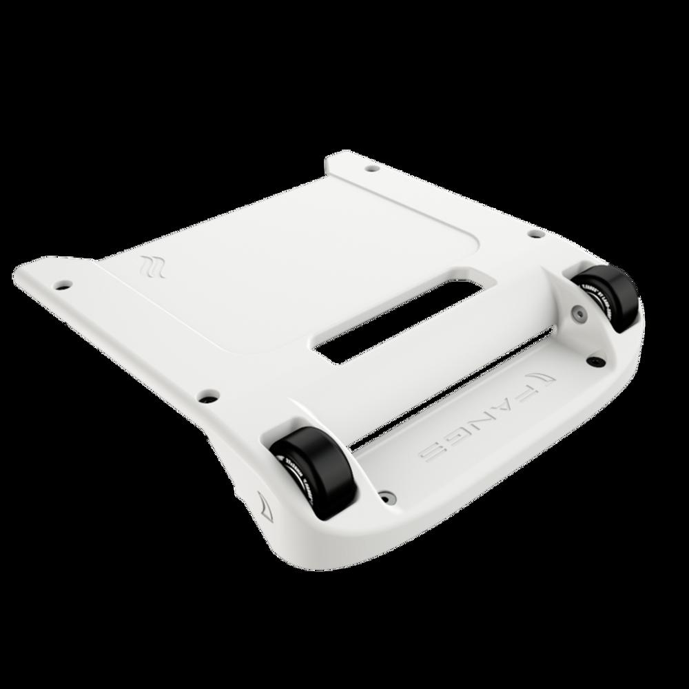 White Bumper / Black Wheels