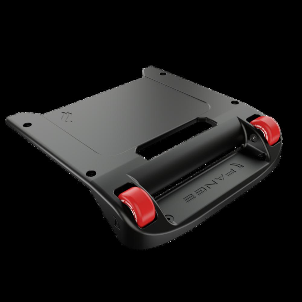 Black Bumper / Red Wheels