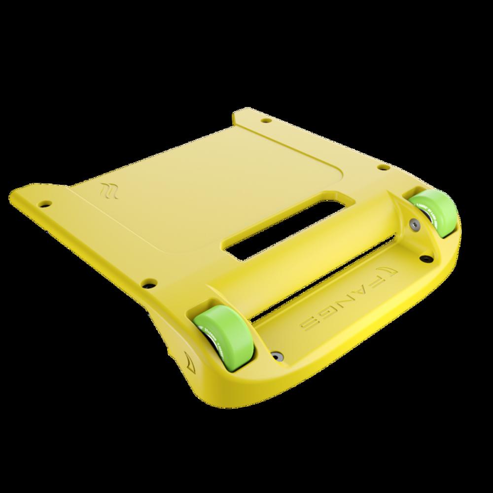 Yellow Bumper / Lime Green Wheels
