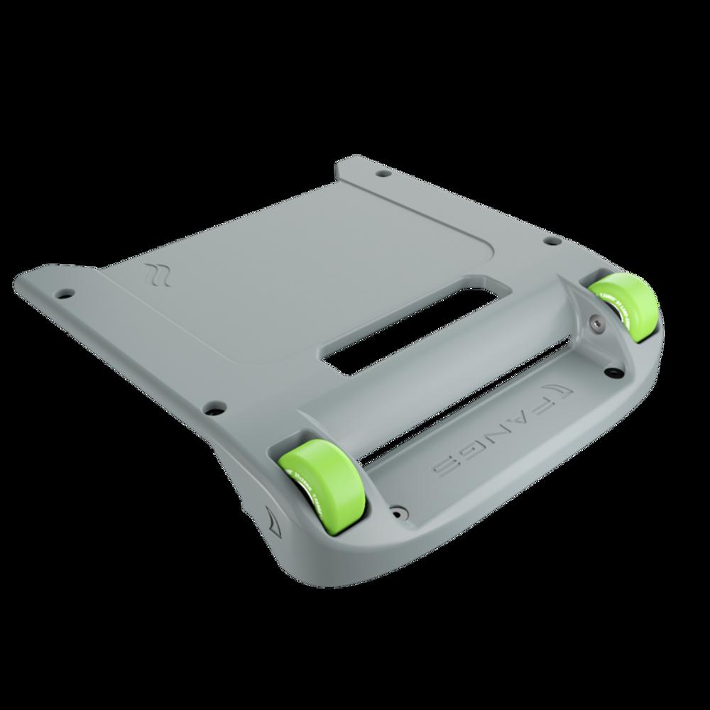 Light Gray Bumper / Lime Green Wheels