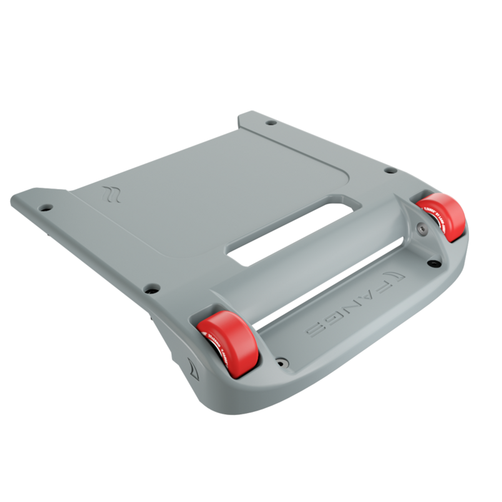 Light Gray Bumper / Red Wheels