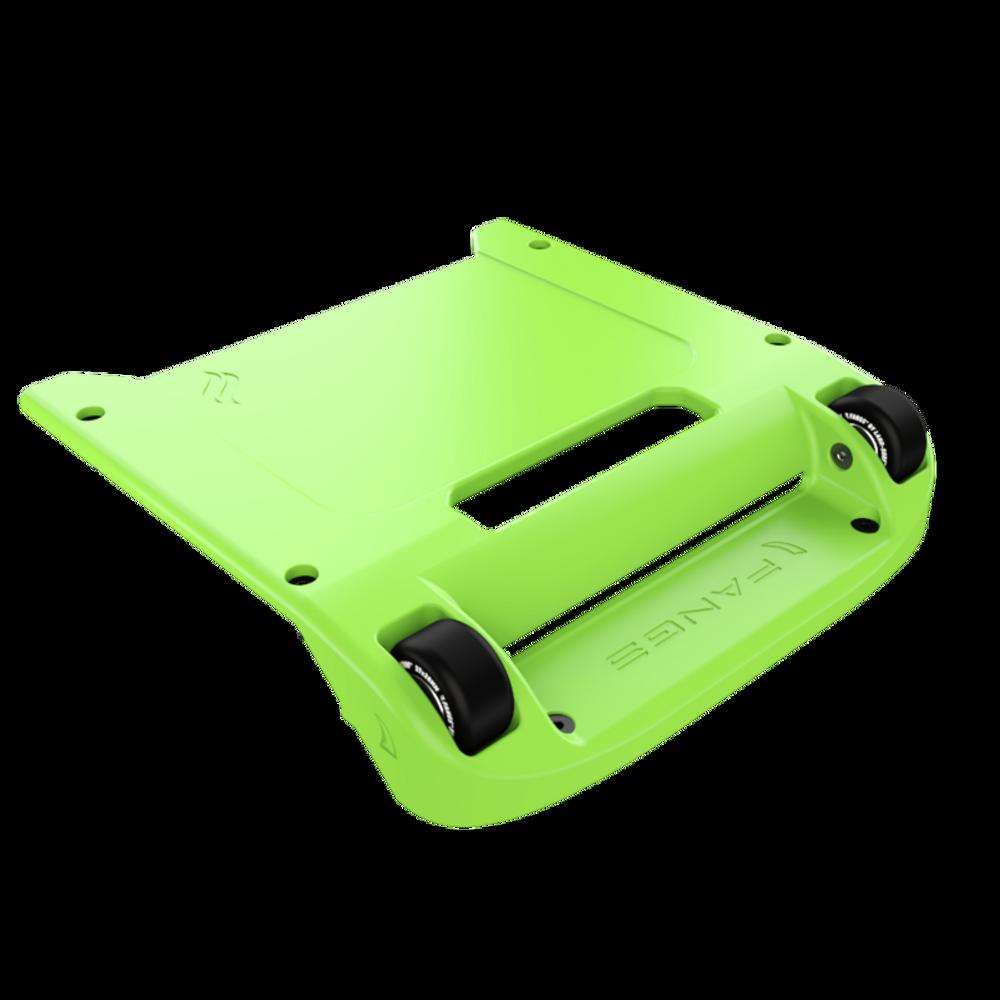 Green Bumper / Black Wheels