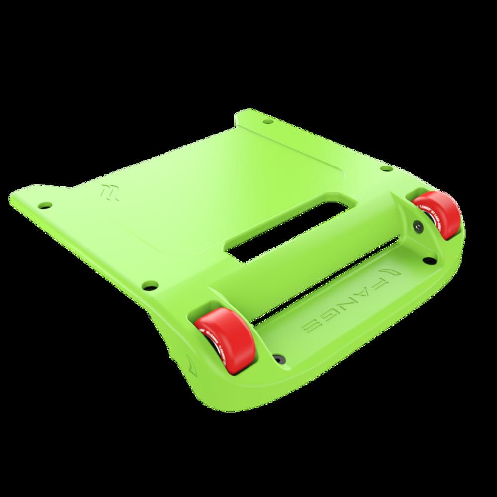 Green Bumper / Red Wheels