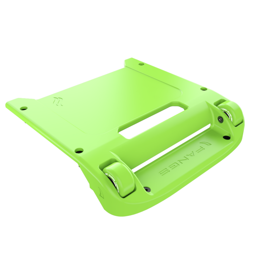Green Bumper / Lime Green Wheels