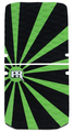Rising Sun - Green/Black