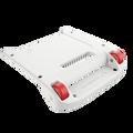 White Bumper / Red Wheels