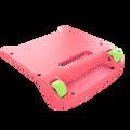 Pink Bumper / Lime Green Wheels