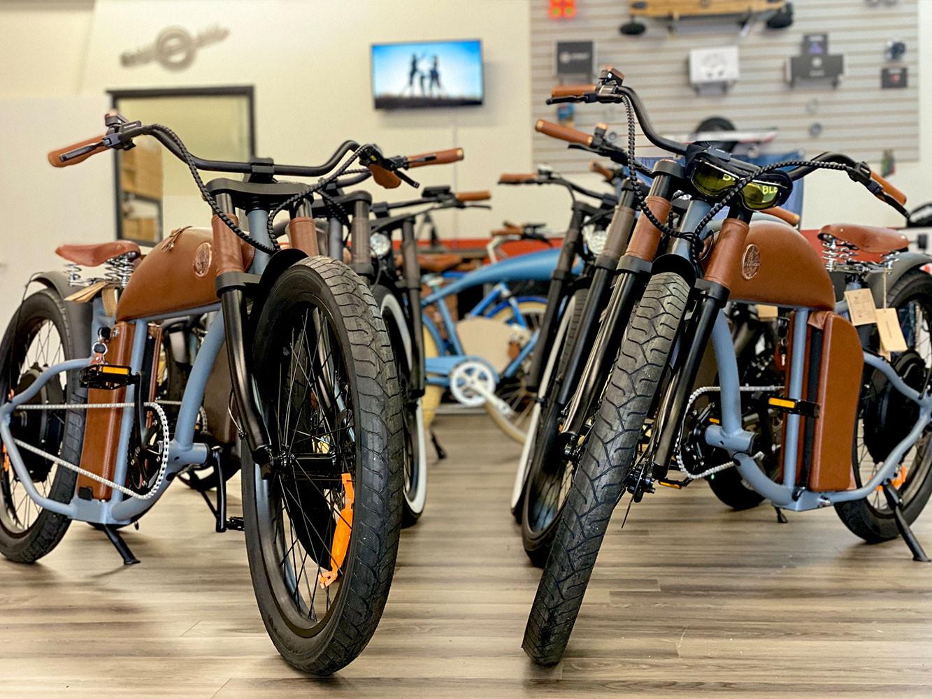 OSBS Has The E-Bike Brands You Love: Rayvolt & Spark Cycleworks