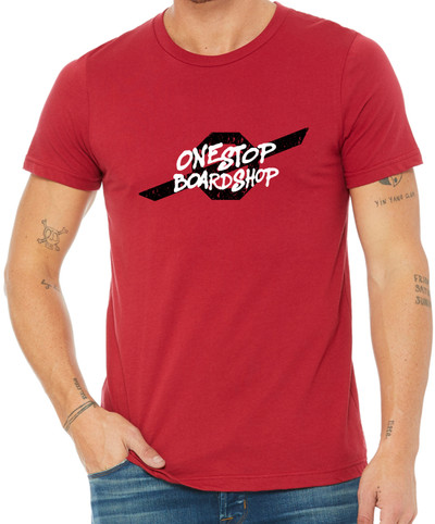 OSBS Street Style T-Shirt in Red