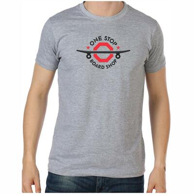 OSBS Shred Style T-Shirt in Grey