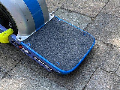 Platypus™ Wide Rear Rear Concave Footpad Blue