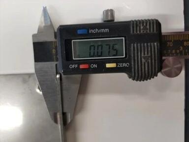 JK Floating Stainless Steel Wear Plate Measurement