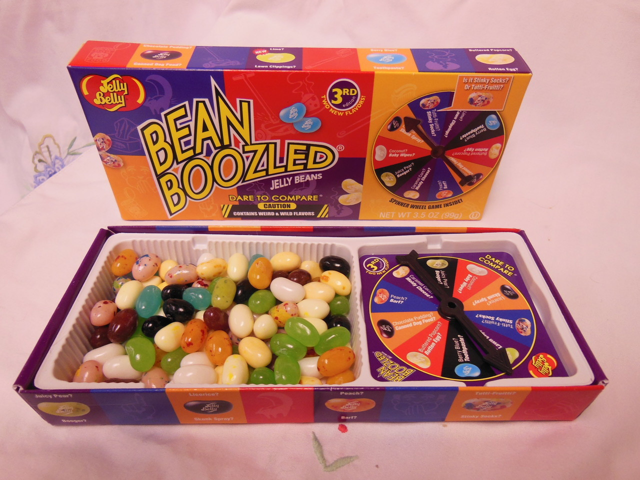 Jelly Belly Bean Boozled Game And 3 Refill Boxes