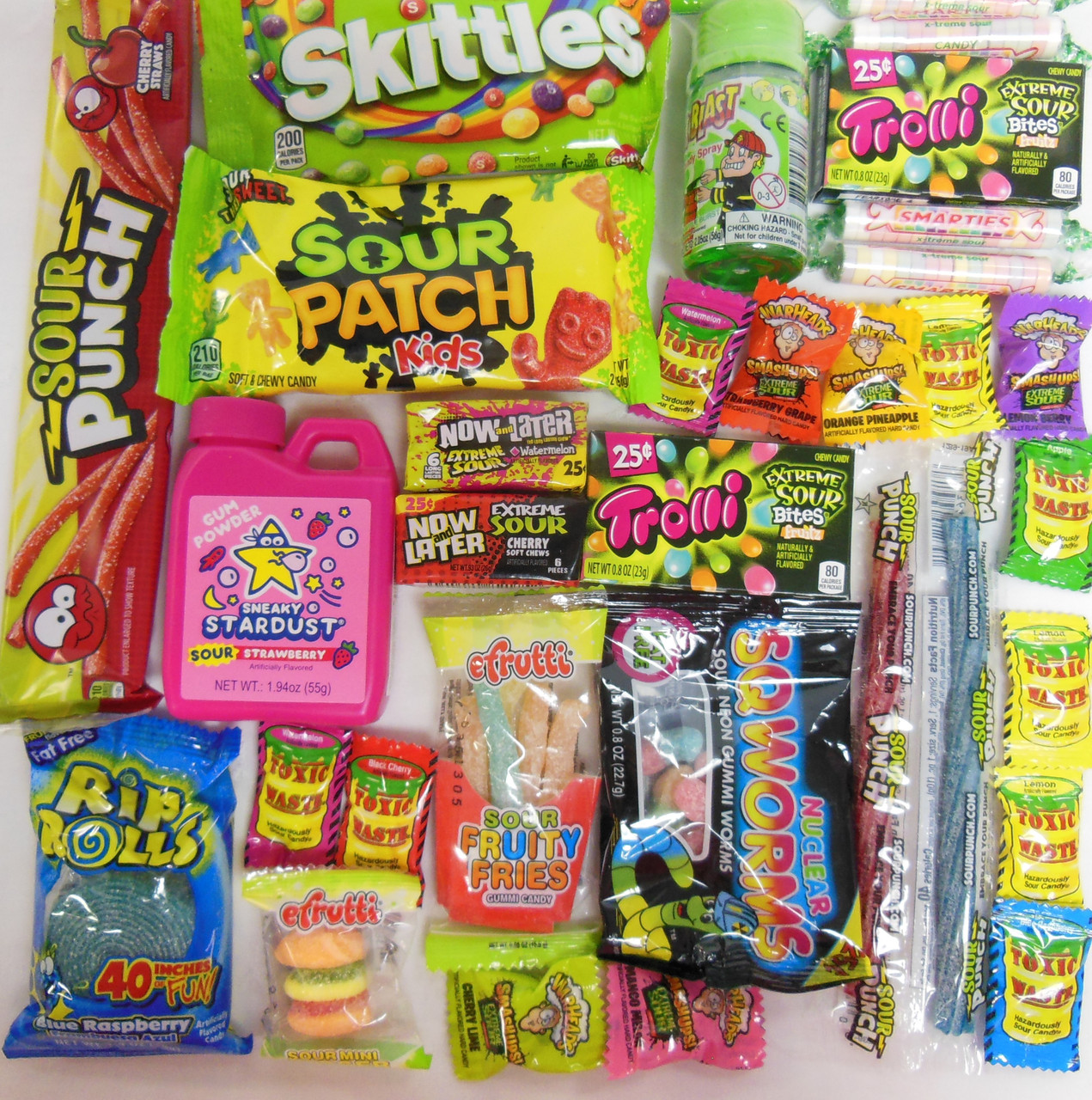 Assorted Sour Candy Box Small
