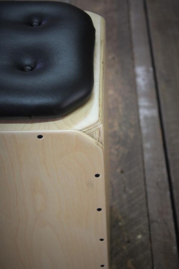 Kopf Percussion Birch Series Snare Cajon corner view