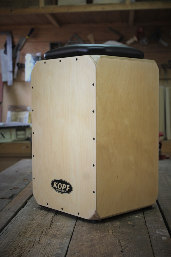 Kopf Percussion Birch Series Snare Cajon Drum side view