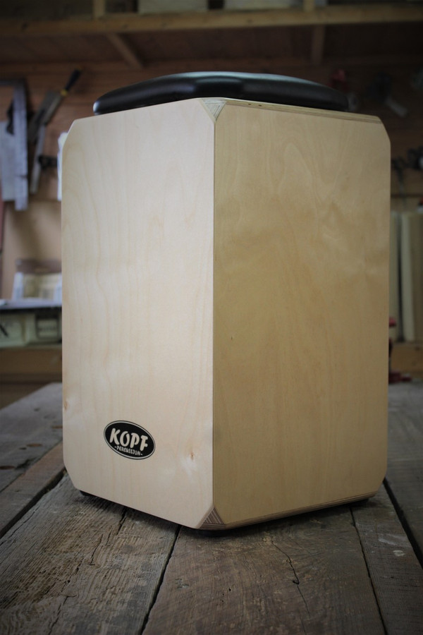 Kopf  Cajon Percussion Birch Series side view.