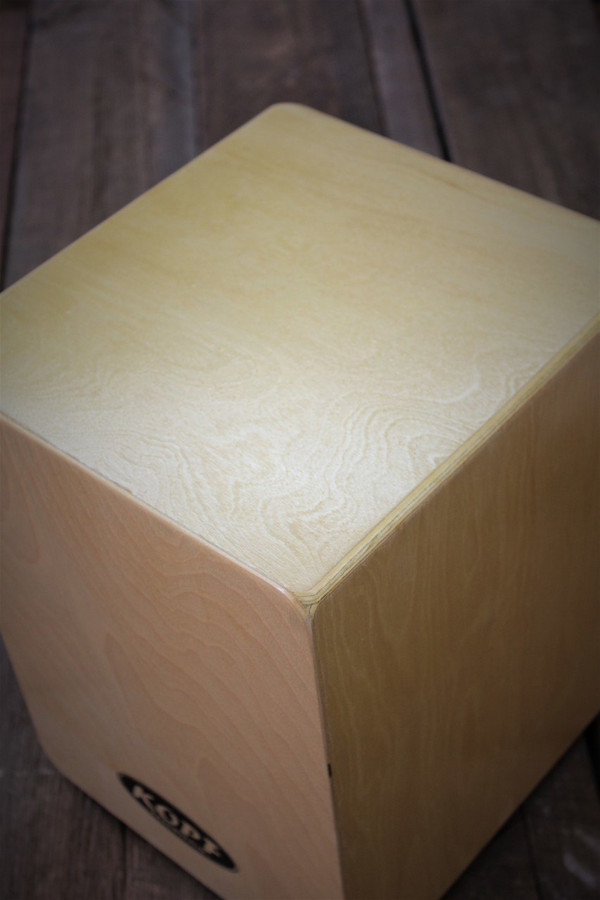 Kopf Percussion Student Cajon Junior top view.
