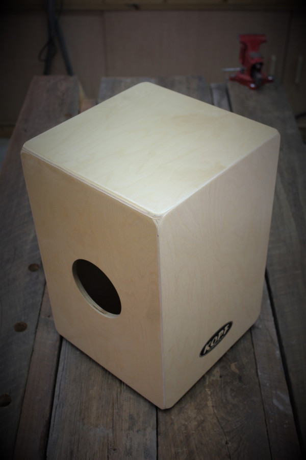 Kopf Percussion Novato Student Cajon top view.