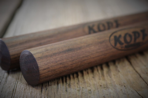 I hand select the best Walnut stock for my Traditional Walnut Claves.
