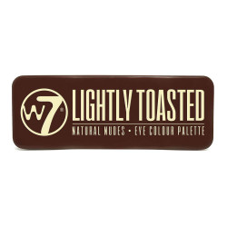 W7 Lightly Toasted Eye Shadow Palette