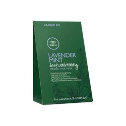 Paul Mitchell Tea Tree Lavender Mint Deep Conditioning Mineral Hair Mask 6 Sachets