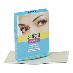 Surgi-Wax Eyebrow Wax Strips (28 Applications)