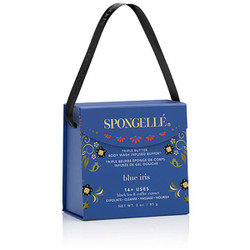 Spongelle Body Wash Infused Buffer - Blue Iris