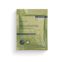 BeautyPro Rejuvenating Collagen Mask with Green Tea Extract