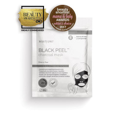 BeautyPro Black Peel Charcoal Mask 3x 7ml