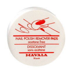 Mavala Nail Polish Remover Pads (30 Pieces)