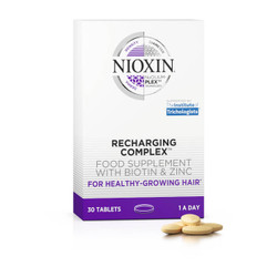 Nioxin Recharging Complex Food Supplement with Biotin & Zinc (30 Tablets)