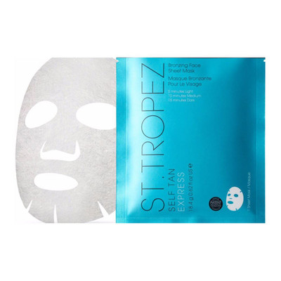 St. Tropez Self Tan Express Bronzing Face Sheet Mask