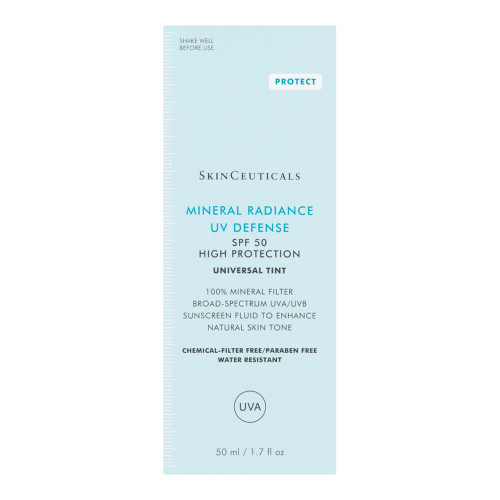 SkinCeuticals Mineral Radiance UV Defense SPF 50 50ml packaging