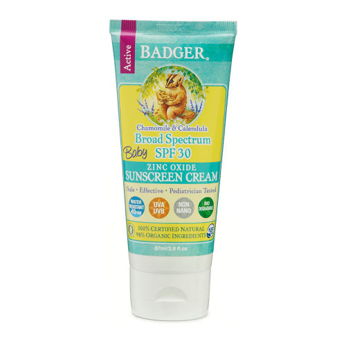 Badger Baby Sunscreen Cream SPF 30 87ml