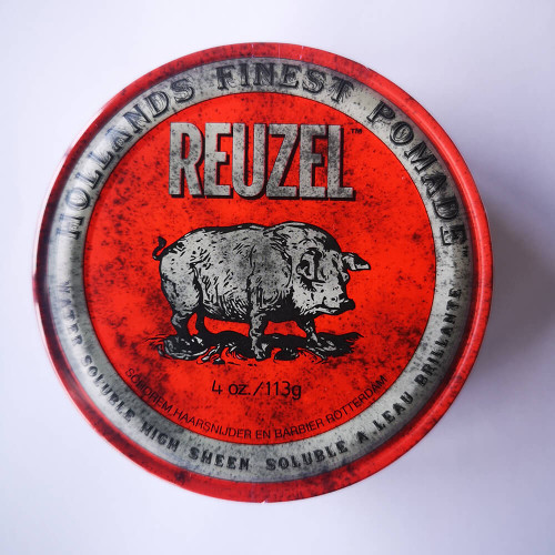 Reuzel Red Pomade - Water Soluble High Sheen 113g