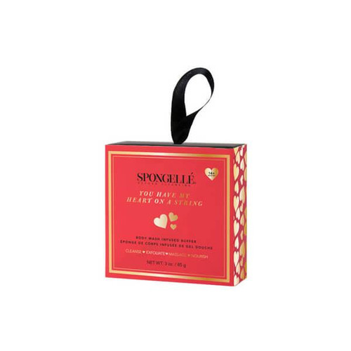 Spongelle You Have My Heart On A String Body Wash Infused Buffer (Boxed)