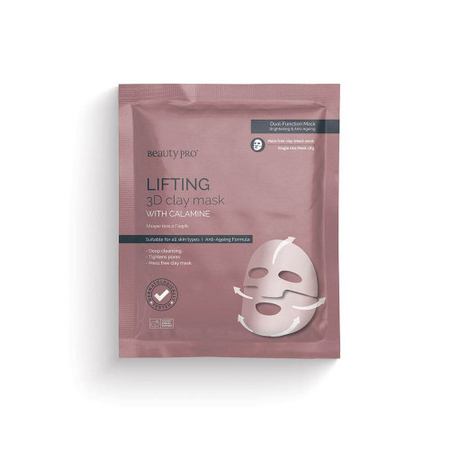 BeautyPro Lifting 3D Clay Mask with Calamine