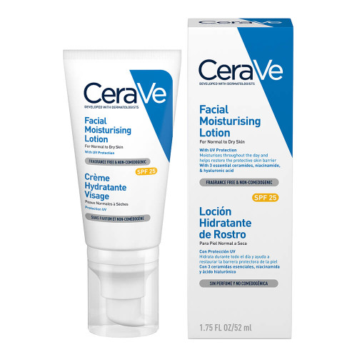 CeraVe Facial Moisturising Lotion With SPF25 52ml
