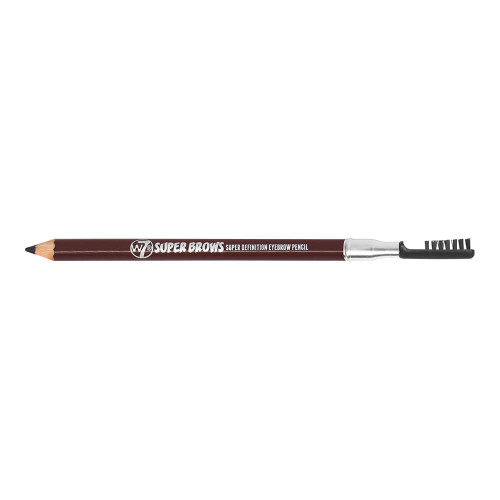 W7 Super Brows Pencil - Brown open lid