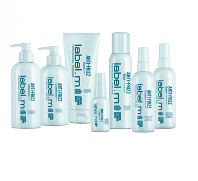 label.m Anti-Frizz range