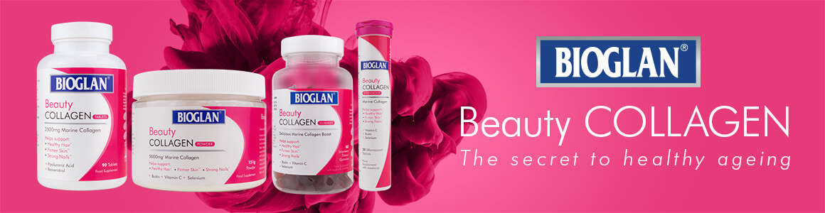 Bioglan Beauty Collagen banner
